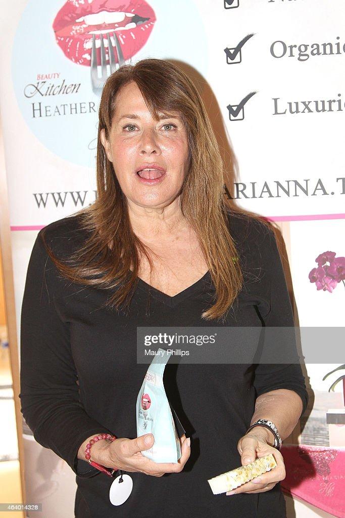 Larraine Bracco attends GBK 2015 Pre-Oscar Awards luxury gift lounge on February 20, 2015 in Los Angeles, California.