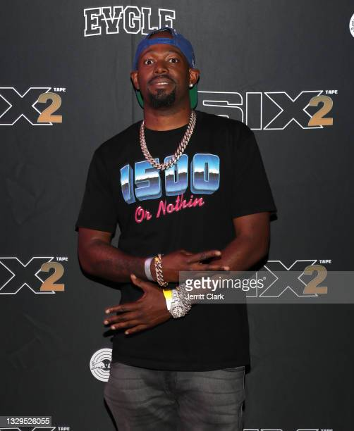 Larrance 'Rance' Dopson attends the Blxst & Bino Rideaux 'Sixtape 2' release event at The Theatre at Ace Hotel on July 15, 2021 in Los Angeles,...
