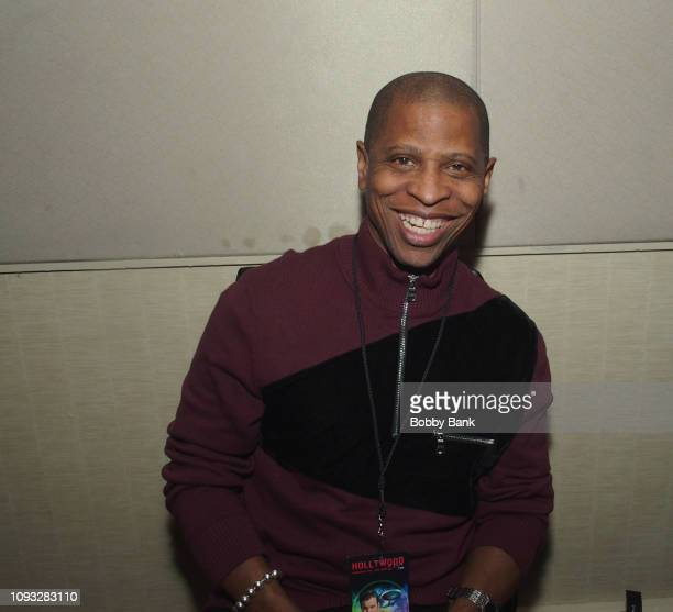 Larry B Scott attends The Hollywood Autograph Show at The Westin Los Angeles Airport on February 2 2019 in Los Angeles California