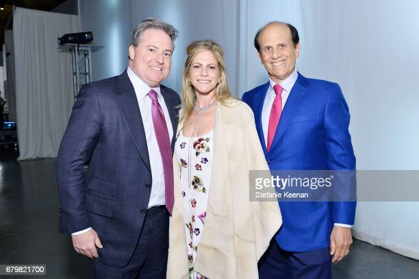Larry Berg Allison Berg and Mike Milken attend UCLA Mattel Children's Hospital presents Kaleidoscope 5 on May 6 2017 in Culver City California