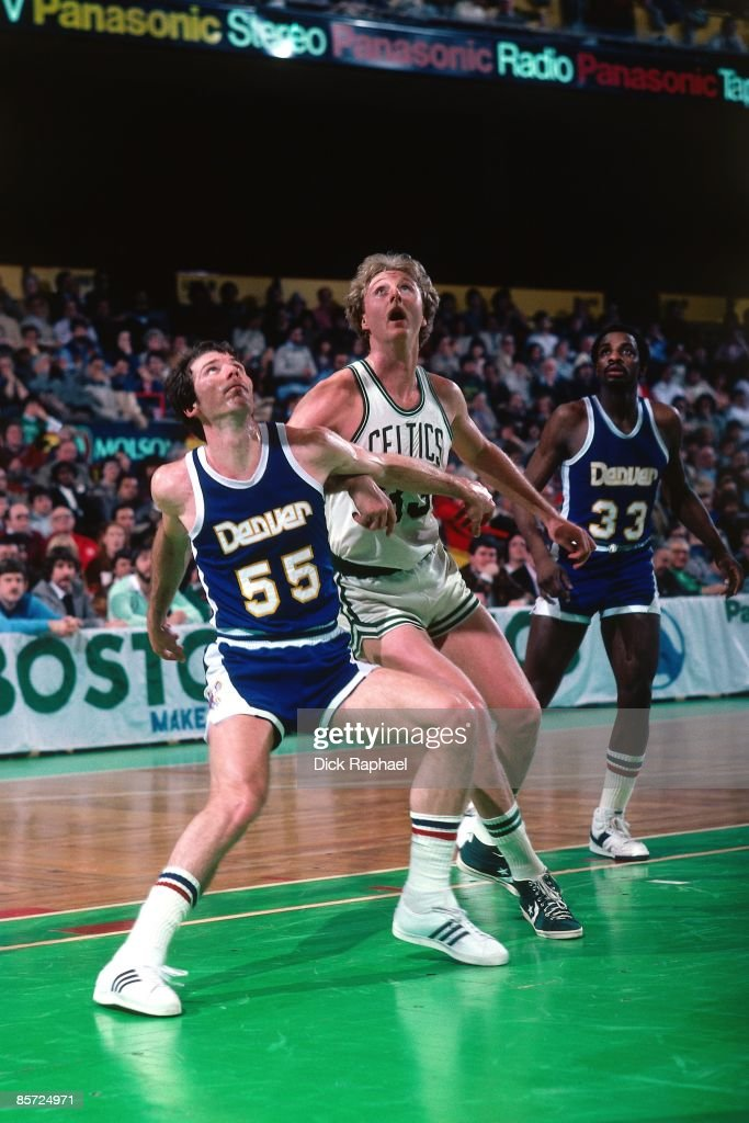 Denver Nuggets vs. Boston Celtics : Foto jornalística
