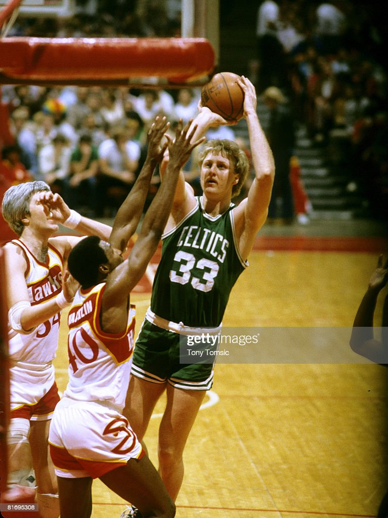 Larry Bird of the Boston Celtics. Drafted into the NBA sixth overall by the Boston Celtics in 1978, Bird played small forward and power forward for thirteen seasons. He retired as a player from the NBA in 1992. Bird was voted to the NBA's 50th Anniversary All-Time Team in 1996 and inducted into the Naismith Memorial Basketball Hall of Fame in 1998. .