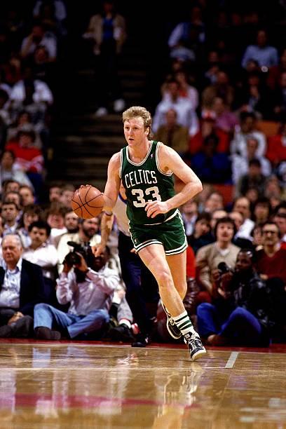 Larry Bird of the Boston Celtics