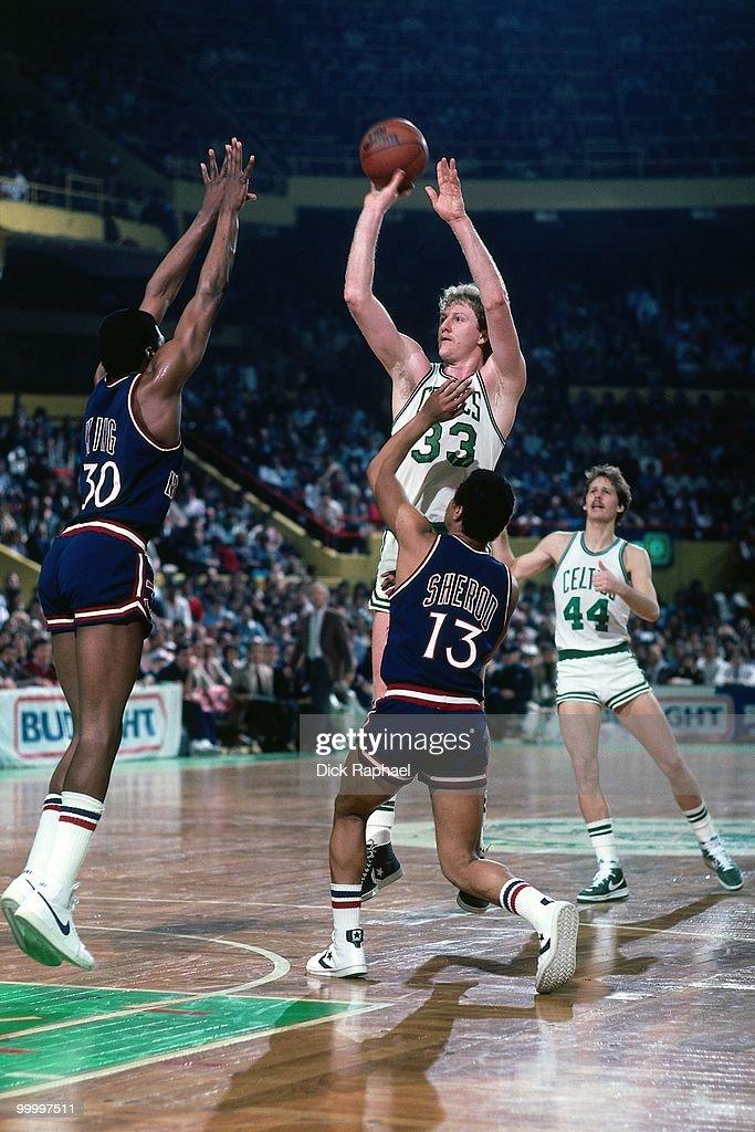 New York Knicks vs. Boston Celtics : Fotografía de noticias
