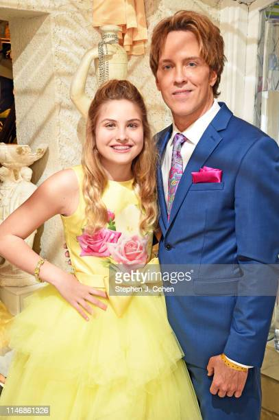 Larry Birkhead and Dannielynn Birkhead attends the Barnstable Brown Derby Eve Gala on May 03 2019 in Louisville Kentucky