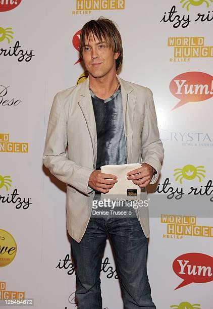 Larry Birkhead attends World Hunger Relief Fundraiser for UN World Food Program at Eve Nightclub on October 11 2010 in Las Vegas Nevada
