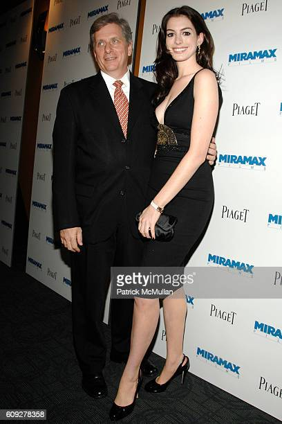 Larry Boland and Anne Hathaway attend BECOMING JANE Premiere Hosted by PIAGET and MIRAMAX at Landmark Sunshine Cinema on July 24 2007 in New York City