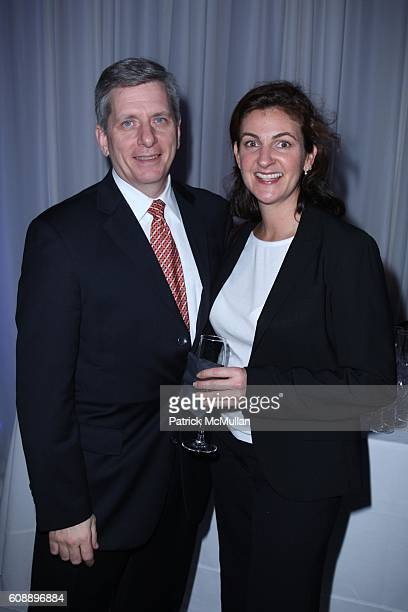 Larry Boland and Deborah Tauber attend PIAGET Hosts An Evening of MAGIC and MOVEMENT at Openhouse Gallery on November 14 2007 in New York City
