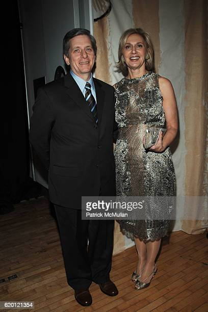 Larry Boland and Eileen Guggenheim attend The Tribeca Ball 25th Anniversary at The New York Acadamy of Art on February 12 2008 in New York City