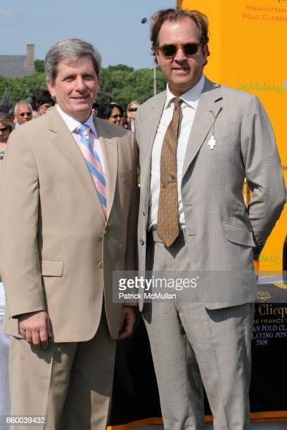 Larry Boland and Mark Cornell attend VEUVE CLICQUOT Manhattan Polo Classic Featuring PRINCE HARRY and NACHO FIGUERAS Benefiting American Friends of...