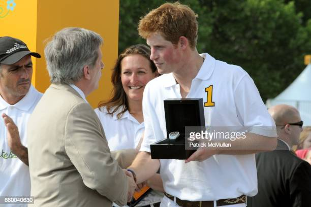 Larry Boland and Prince Harry attend VEUVE CLICQUOT Manhattan Polo Classic Featuring PRINCE HARRY and NACHO FIGUERAS Benefiting American Friends of...
