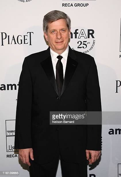Larry Boland attends the 2nd Annual amfAR Inspiration Gala at The Museum of Modern Art on June 14 2011 in New York City