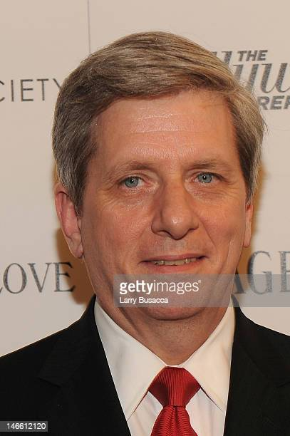 Larry Boland attends the Cinema Society with The Hollywood Reporter Piaget and Disaronno special screening of To Rome With Love at the Paris Theatre...