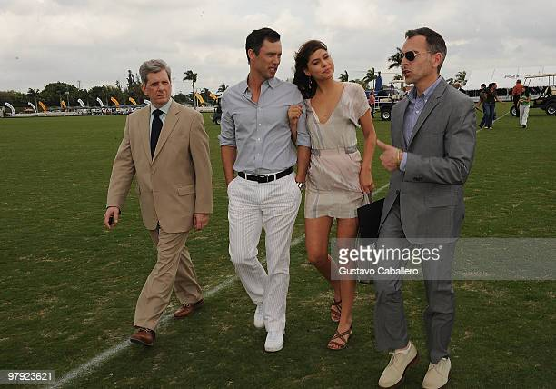 Larry Boland, Jeffrey Donovan, Michelle Woods and Jim Kloiber attend the Piaget Gold Cup at the Palm Beach International Polo Club on March 21, 2010...