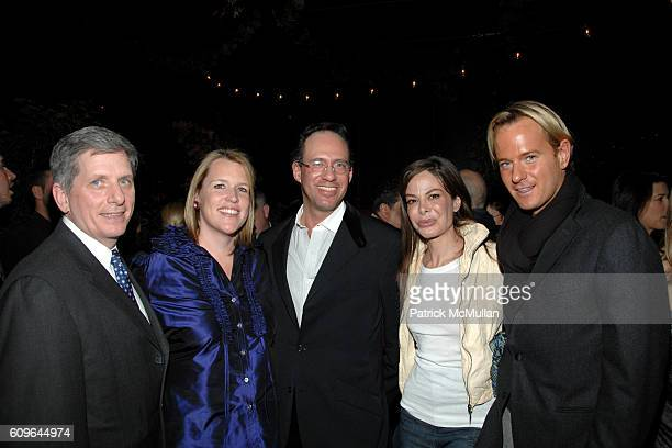 Larry Boland Marjorie Gubelmann Andrew Saffir Allison Sarofim and Daniel Benedict attend THE CINEMA SOCIETY and PIAGET host the after party for...