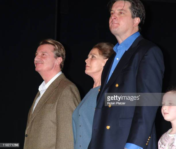 Larry Bryggman Ali MacGraw and Christopher Evan Welch and Meredith Lipson