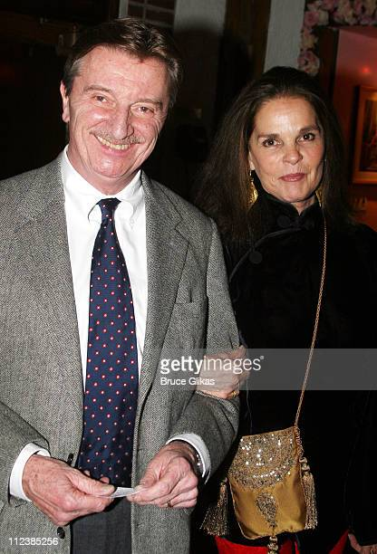Larry Bryggman and Ali MacGraw during 'Festen' Broadway Opening Night After Party at Opening Night Curtain Call and Party for 'Festen' on Broadway in...