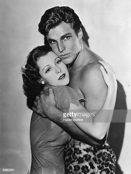 Larry 'Buster' Crabbe stars in 'King Of The Jungle' with Frances Dee The film was directed by H Bruce Humberstone for Paramount
