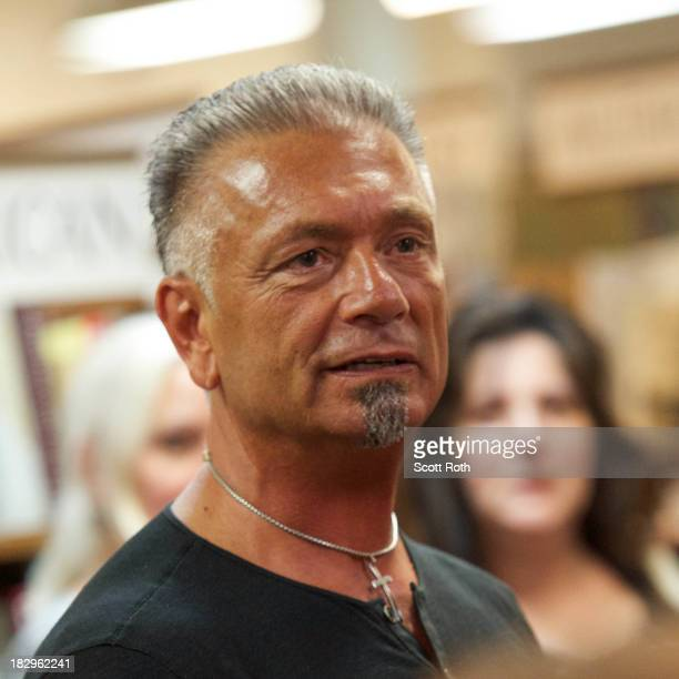 Larry Caputo attends the book signing for There's More to Life Than This at Book Revue on October 2 2013 in Huntington New York