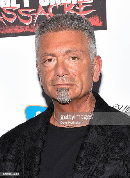 Larry Caputo attends the Jersey Shore Massacre New York Premiere at AMC Lincoln Square Theater on August 19 2014 in New York City