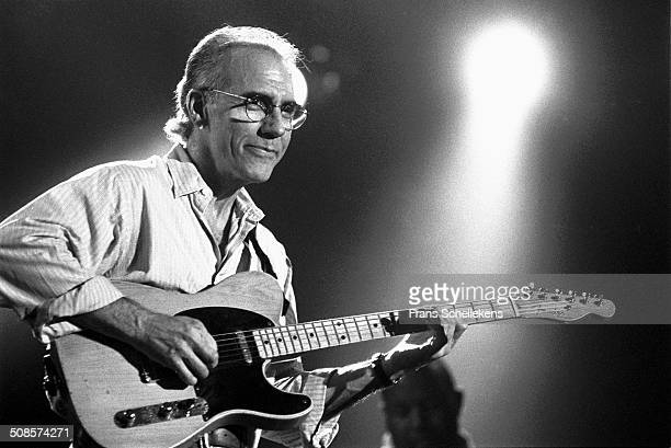 Larry Carlton, guitar, performs at the North Sea Jazz Festival in the Hague, Netherlands on 12th July 1997.