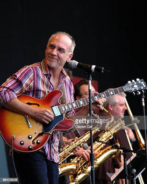 Larry Carlton performing at the Monterey Jazz Festival on September 17 2005 He plays a Gibson ES335 guitar