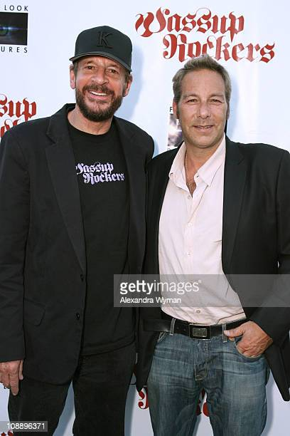 Larry Clark, director, and Henry Winterstern, producer