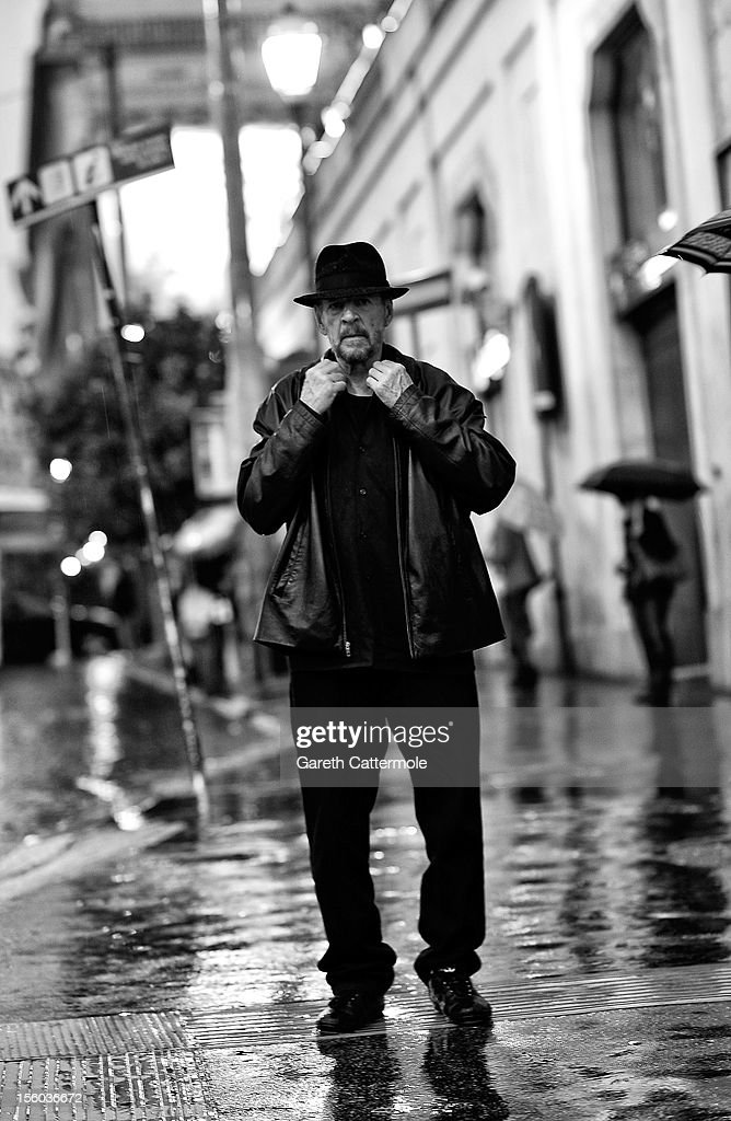 Larry Clark during a portrait session at the 7th Rome Film Festival on November 11, 2012 in Rome, Italy.