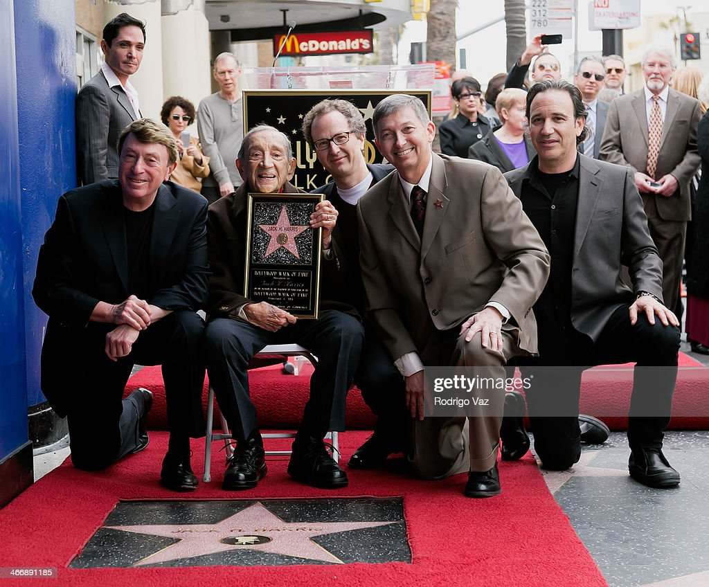 Jack H. Harris Honored With A Star On The Hollywood Walk Of Fame