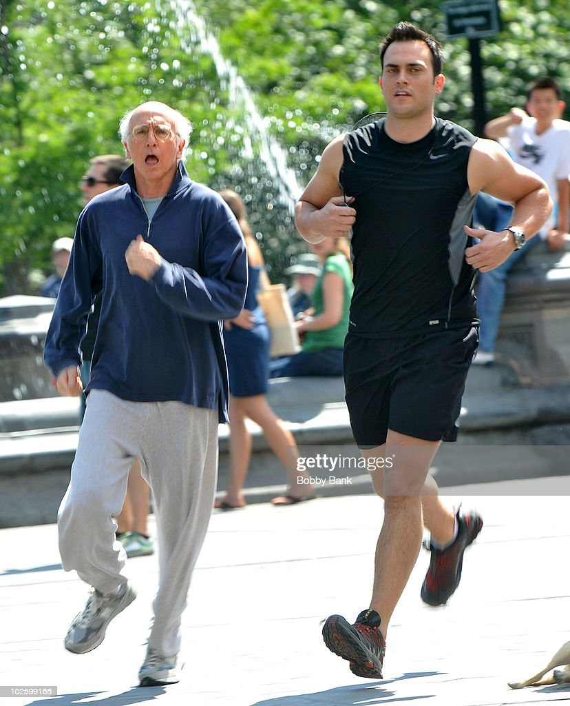 """On Location For """"Curb Your Enthusiasm"""" - July 2, 2010 : News Photo"""