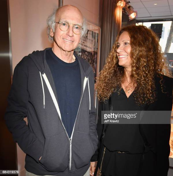 Larry David and Joyce Lapinsky at the LA Premiere of If You're Not In The Obit Eat Breakfast from HBO Documentaries on May 17 2017 in Beverly Hills...