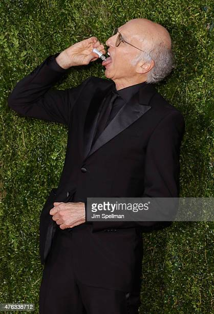 Larry David attends American Theatre Wing's 69th Annual Tony Awards at Radio City Music Hall on June 7 2015 in New York City