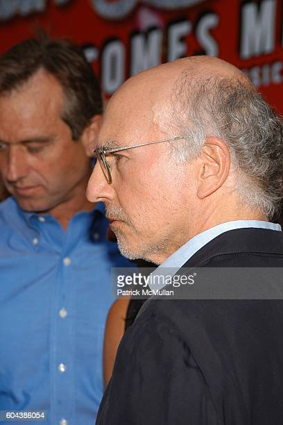 Larry David attends MARTIN SHORT FAME BECOMES ME Opening Night Arrivals at Bernard B Jacobs Theatre on August 17 2006 in New York City