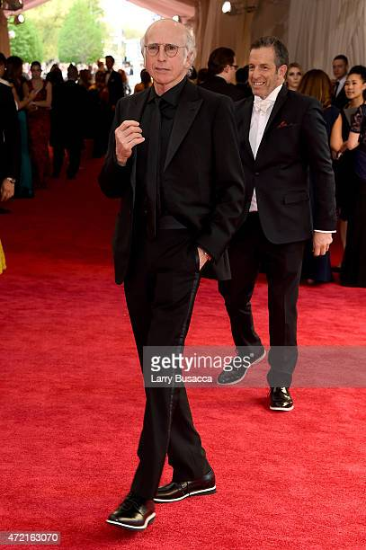 Larry David attends the 'China Through The Looking Glass' Costume Institute Benefit Gala at the Metropolitan Museum of Art on May 4 2015 in New York...