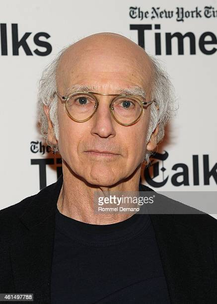 Larry David attends the Times Talk Presents An Evening With Larry David at Times Center on January 13 2015 in New York City