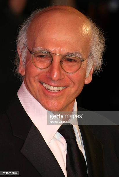 Larry David during 2006 Vanity Fair Oscar Party at Morton's in West Hollywood California United States