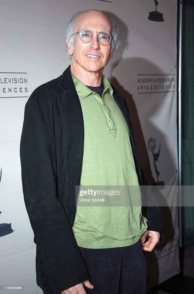 Larry David during Academy of Television Arts & Sciences Presents an Evening with 'Curb Your Enthusiasm' at Academy of Television Arts & Sciences in North Hollywood, California, United States.