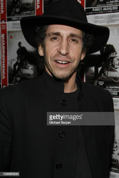 Larry David Eudene during Quadrophenia Musical Theatre Performance at The Avalon in Hollywood California United States
