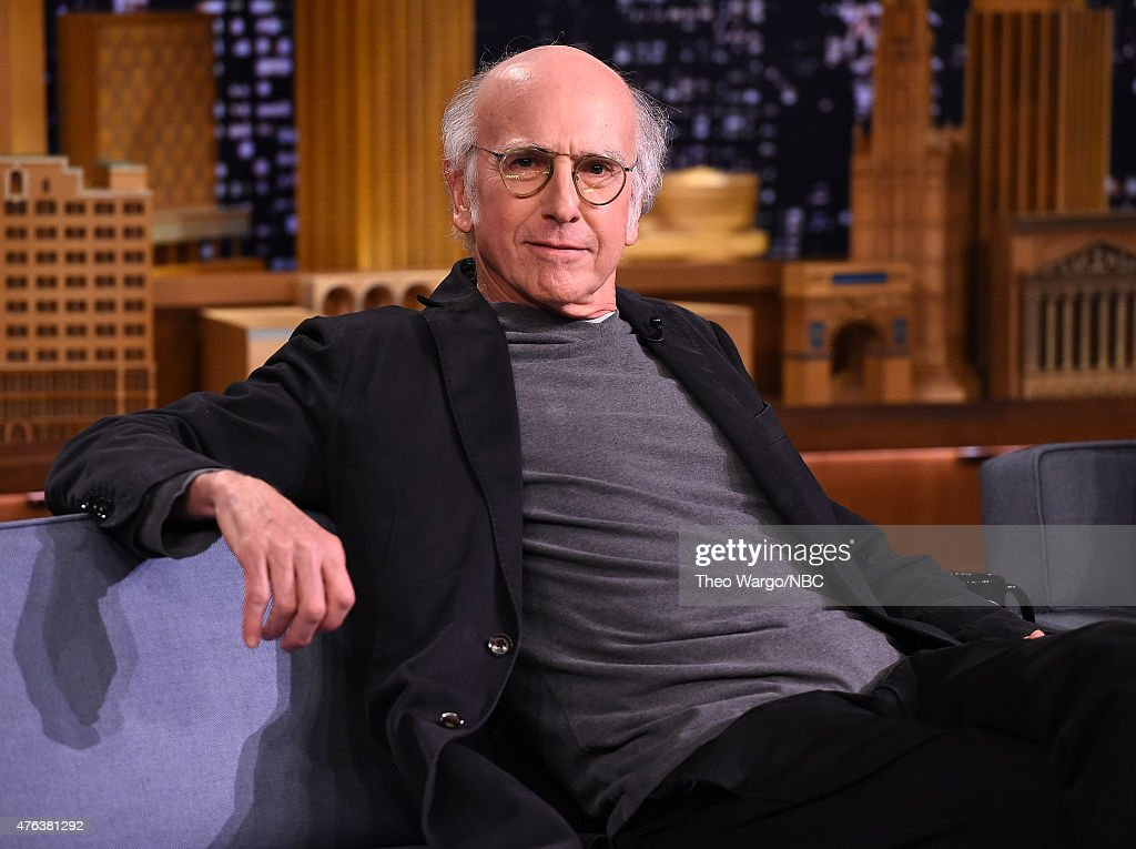 "Larry David And Jason Alexander Visit ""The Tonight Show Starring Jimmy Fallon"" : News Photo"