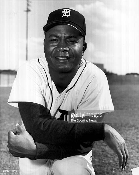 Larry Doby of the Detroit Tigers circa 1959 in Detroit Michigan