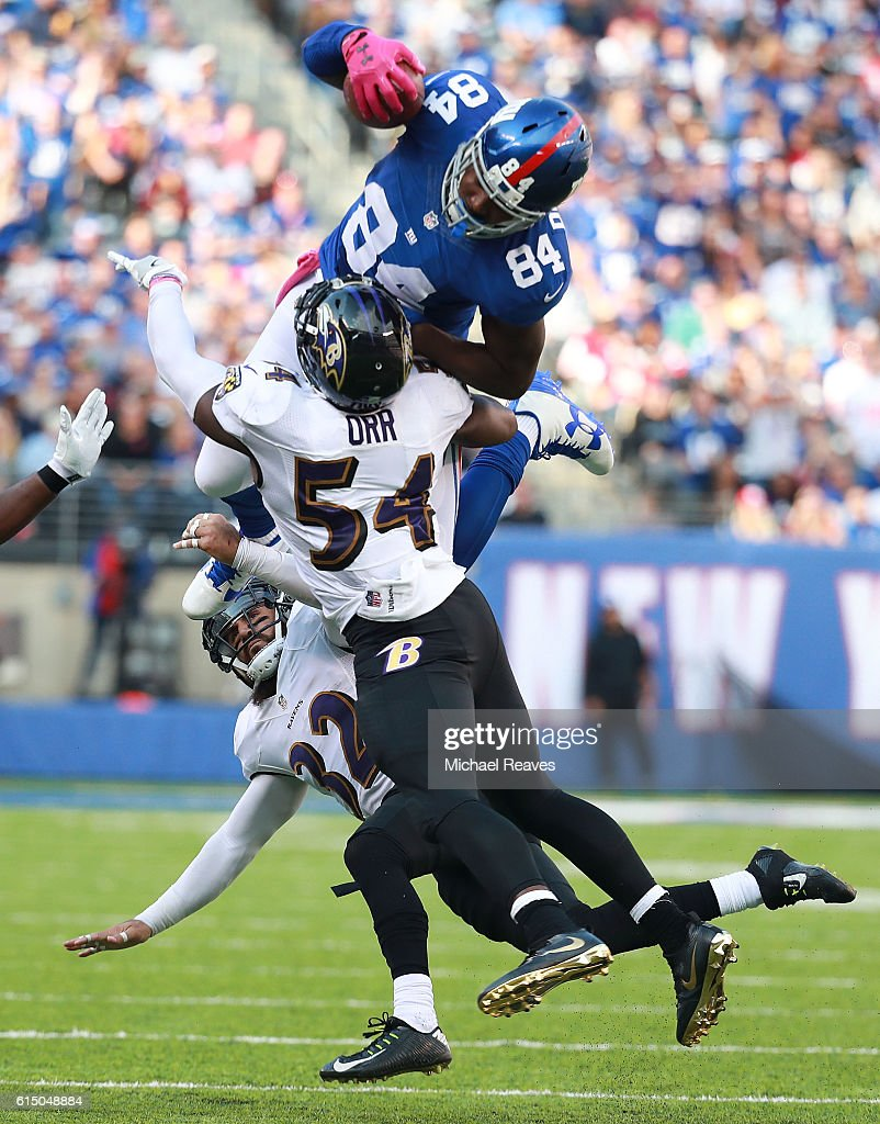 Baltimore Ravens v New York Giants
