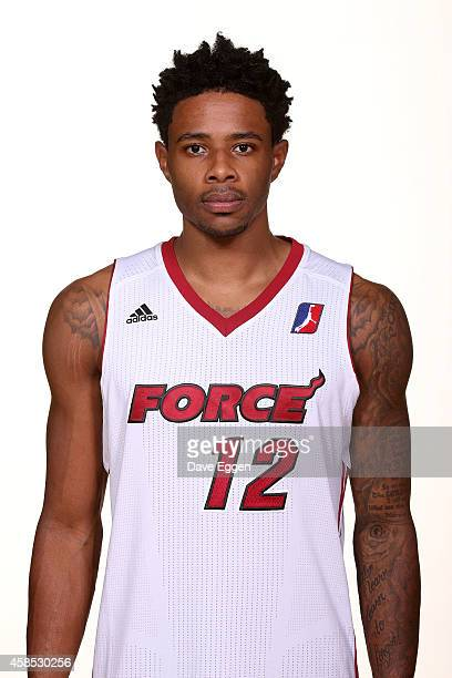 Larry Drew II of the Sioux Falls Skyforce of the NBA DLeague poses for a photograph on media day November 5 2014 at the Sanford Pentagon in Sioux...