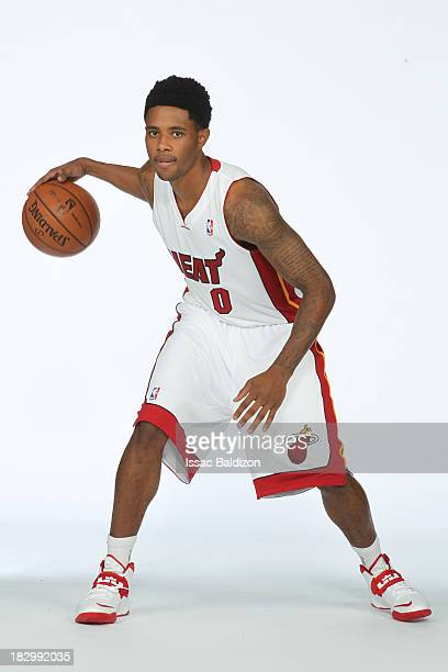 Larry Drew of the Miami Heat poses for a photo during media day on September 30 2013 at the American Airlines Arena in Miami Florida NOTE TO USER...