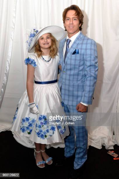 Larry E Birkhead and Dannielynn Birkhead attends The 144th Annual Kentucky Derby at Churchill Downs on May 5 2018 in Louisville Kentucky