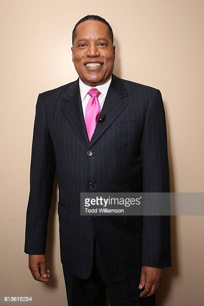 Larry Elder attends the Inform Your Vote President Election Debate at The Tabernacle on October 8 2016 in Inglewood California
