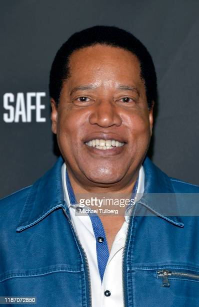 Larry Elder attends the premiere of the film No Safe Spaces at TCL Chinese Theatre on November 11 2019 in Hollywood California