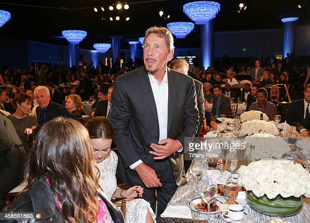 Larry Ellison attends the Friends Of The Israel Defense Forces 2014 Western Region Gala at The Beverly Hilton Hotel on November 6 2014 in Beverly...