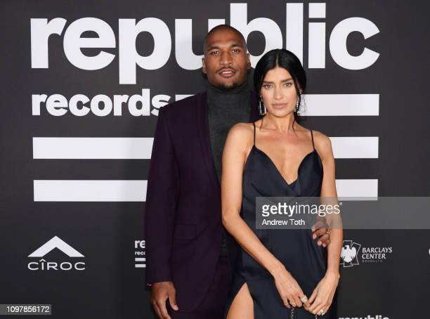 Larry English and Nicole WilliamsEnglish attend Republic Records Grammy after party at Spring Place Beverly Hills on February 10 2019 in Beverly...