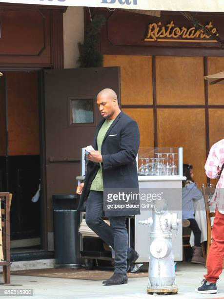Larry English is seen on March 22 2017 in Los Angeles California