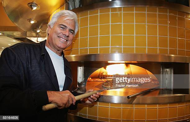 Larry Flax Co founder of California Pizza Kitchen at the California Pizza Kitchen grand opening preview party held to benefit AIDS Project Los...